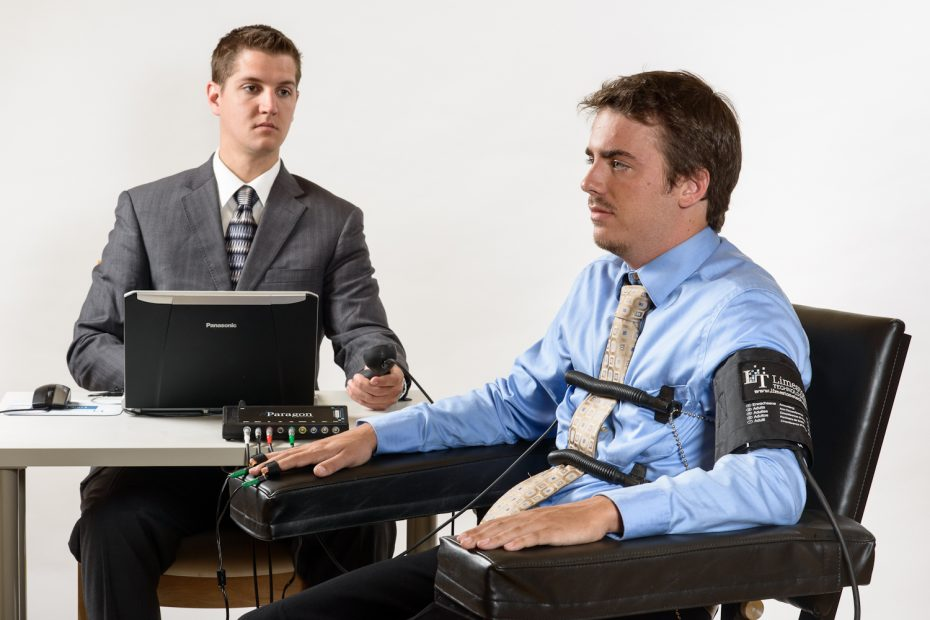 Giving Polygraph test2